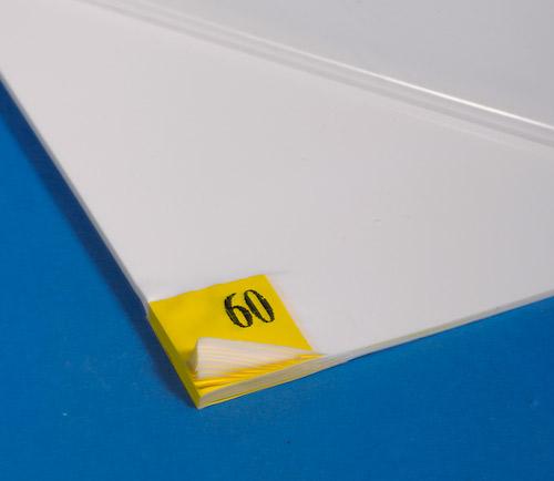 Tacky Mat white 18 x36 4 mats per c/s 60 layers