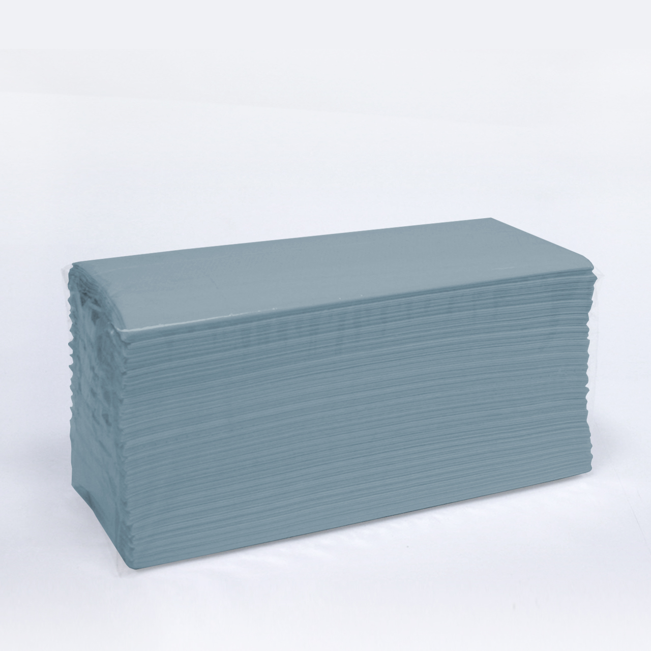 C Fold Hand Towels 1 ply Blue