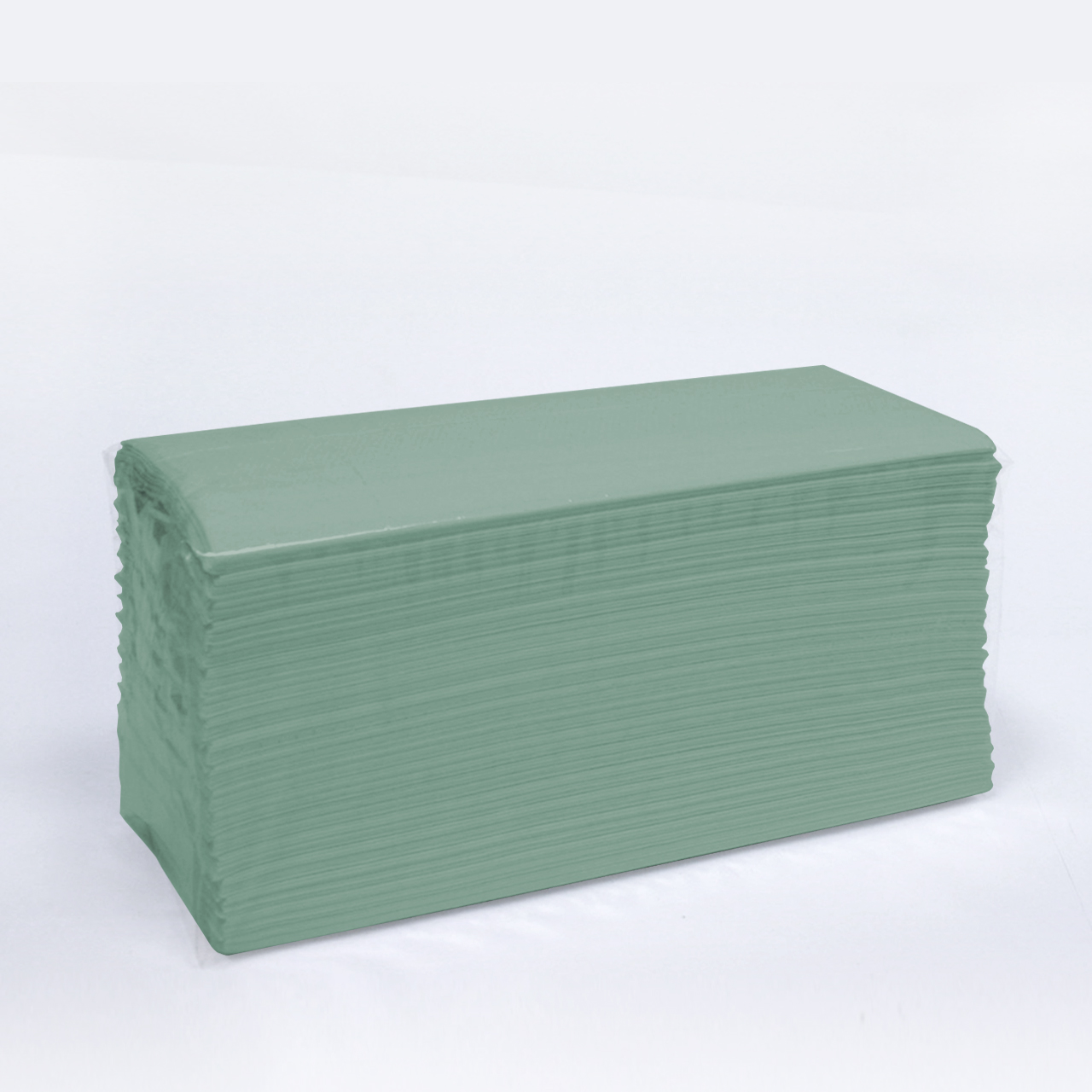 C Fold Hand Towels 1 ply Green