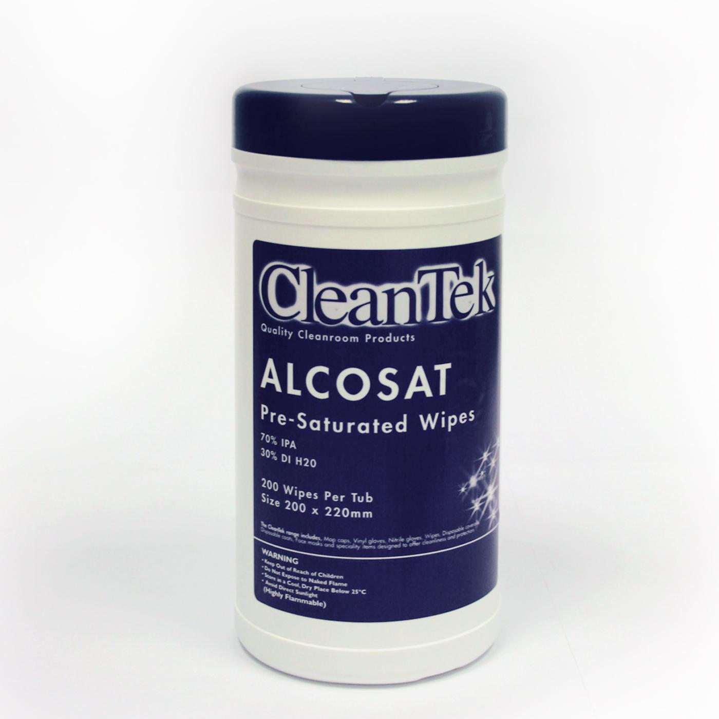 CleanTek AlcoSat Pre Sat Wiper