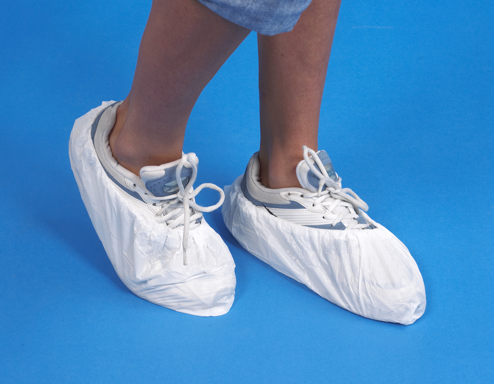 CLEANTEK OVERSHOES WHITE 14