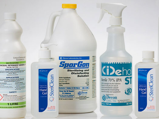 Cleaning and Sanitising Chemicals